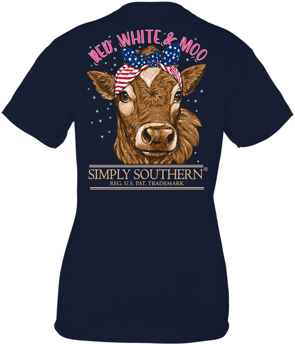 Moo Tshirt by Simply Southern