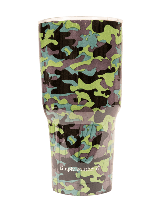 Simply Southern 30oz Tumbler Camo - Turnmeyer Galleries