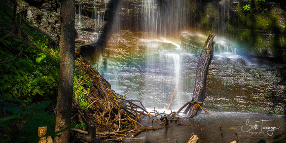 Mystic Waterfall Fine Art Landscape Photography Print