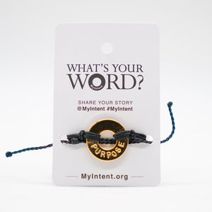 MyIntent Popular Word Twist Bracelets - Purpose