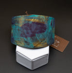 Fire Patina Wide Cuff Bracelet