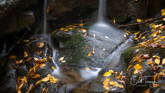 Fall Waterfalls in Shenandoah National Park Fine Art Landscape Photography Print