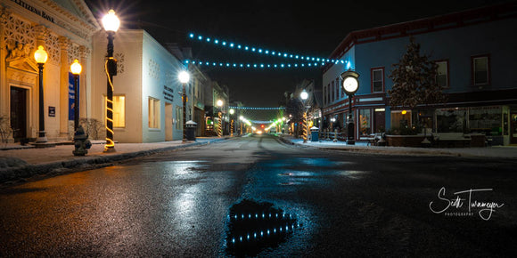 Downtown Night Fine Art Landscape Photography Print