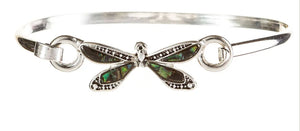 Abalone Dragonfly Hook Bracelet - Turnmeyer Galleries