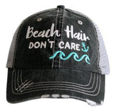 Beach Hair Don't Care Trucker Hat