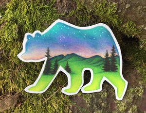 Bear Decal - Turnmeyer Galleries