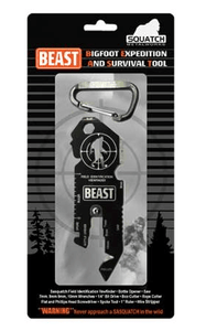 BEAST (Bigfoot Expedition and Survival Tool) Metal Keychain - Turnmeyer Galleries