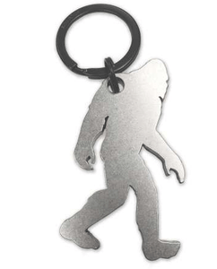 Walking Bigfoot Metal BOTTLE OPENER w/ CARABINER - Turnmeyer Galleries