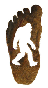 Bigfoot Footprint Magnet - Large - Turnmeyer Galleries