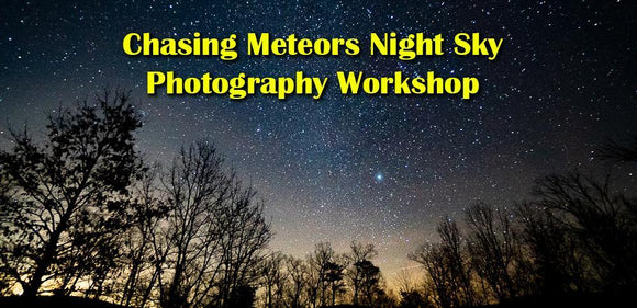 Sunset & Chasing Meteors Photography Workshops in the Shenandoah National Park (Overlook Location) - Turnmeyer Galleries