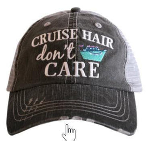 Cruise Hair Don't Care Trucker Hat - Turnmeyer Galleries