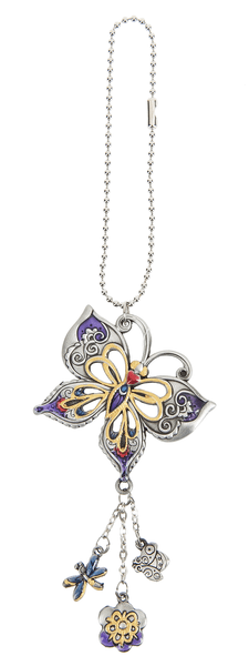 Car Charm - Garden Butterfly - Turnmeyer Galleries
