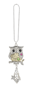 Car Charm - Owl - Turnmeyer Galleries