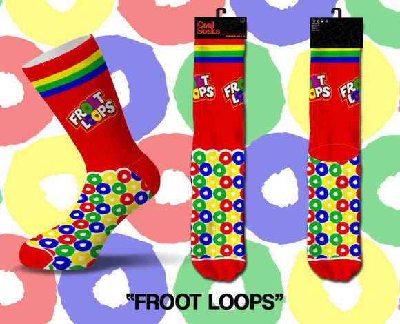 Froot Loops Socks - Turnmeyer Galleries