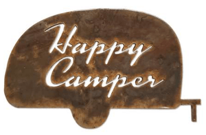 Happy Camper Metal MAGNET - Turnmeyer Galleries