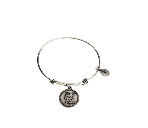 Bella Ryann Bangle Bracelet - Happy Wife Happy Life - Turnmeyer Galleries