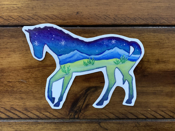 Horse Decal - Turnmeyer Galleries