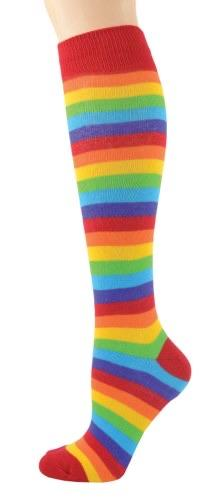 Rainbow Knee High Socks - Turnmeyer Galleries