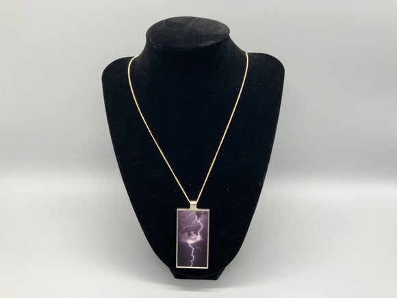 Rectangle Photo Necklace