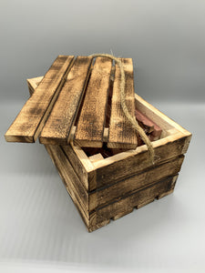 Aged Crate with Cedar - Turnmeyer Galleries