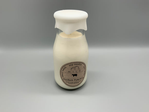 Milk Reclamation Barn Milk Bottle Soy Candles