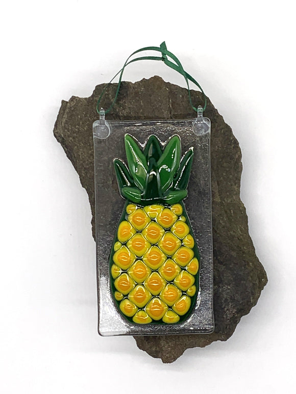 Pineapple Tile Ornament - Turnmeyer Galleries