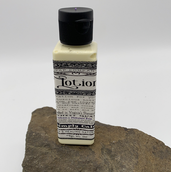 Organic and Natural Lotion - Simply Calm - Turnmeyer Galleries