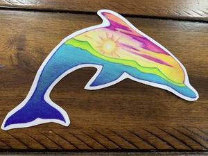 Dolphin Decal - Turnmeyer Galleries