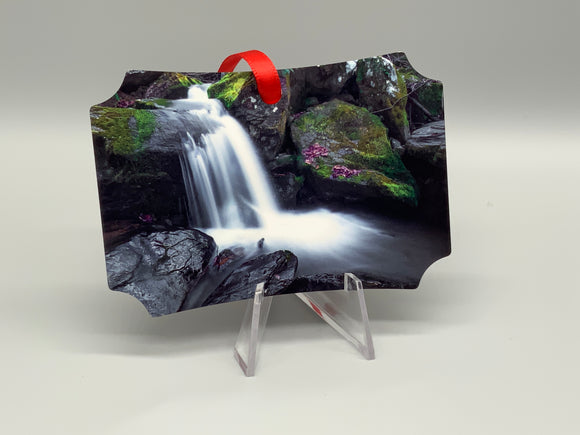 National Park Metal Photo Ornament