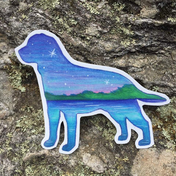 Labrador Decal - Turnmeyer Galleries