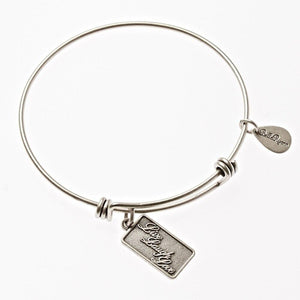 Bella Ryann Bangle Bracelet - Live Laugh Love - Turnmeyer Galleries