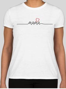 MaMa with Heart Tshirt by Turnmeyer Galleries