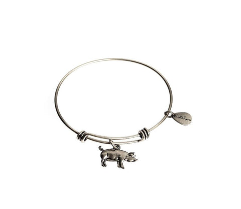 Bella Ryann Bangle Bracelet - Pig