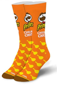 Cheddar Cheese Pringles Socks - Turnmeyer Galleries