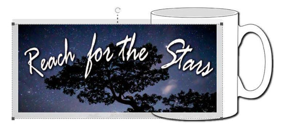 Reach for the Stars Ceramic Photographic Mug - Turnmeyer Galleries