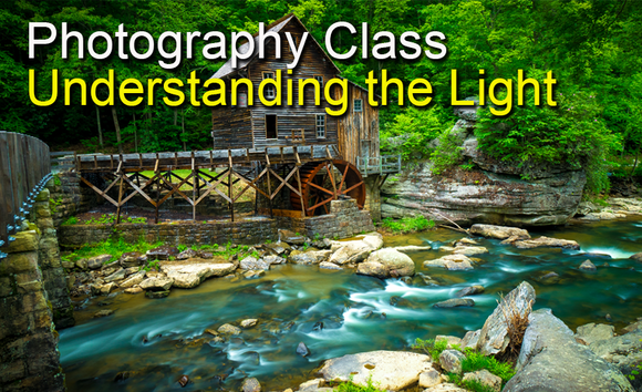 Photography Class - Lighting and Understanding the Light with Scott Turnmeyer - Turnmeyer Galleries