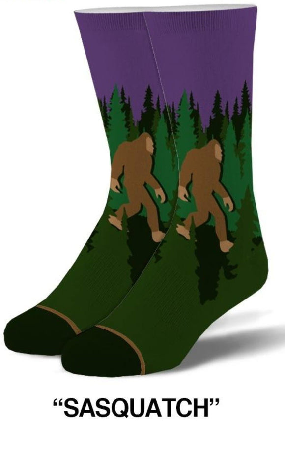 Sasquatch Socks Bigfoot - Turnmeyer Galleries