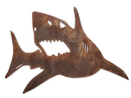 Shark Metal MAGNET - Turnmeyer Galleries