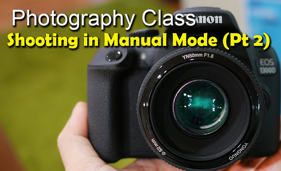 Photography Class - Shooting in Manual Mode (Part 2) with Scott Turnmeyer - Turnmeyer Galleries