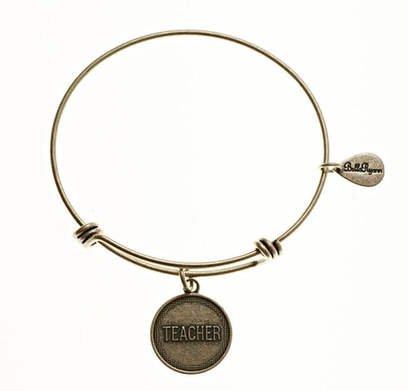 Bella Ryann Bangle Bracelet - Teacher - Turnmeyer Galleries
