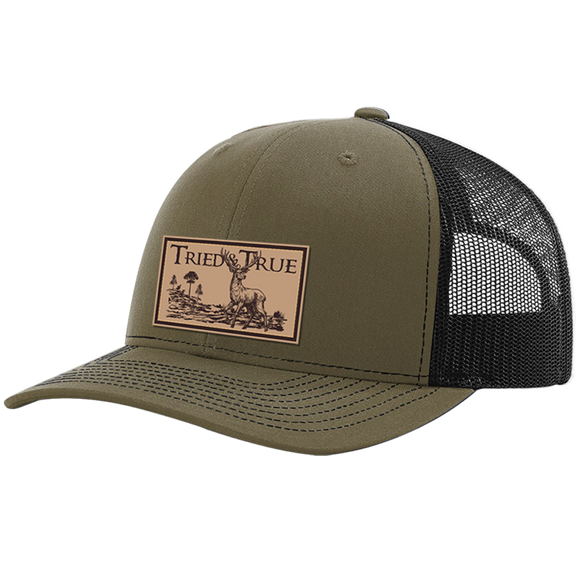 Buck Leather Patch Hat by Tried and True