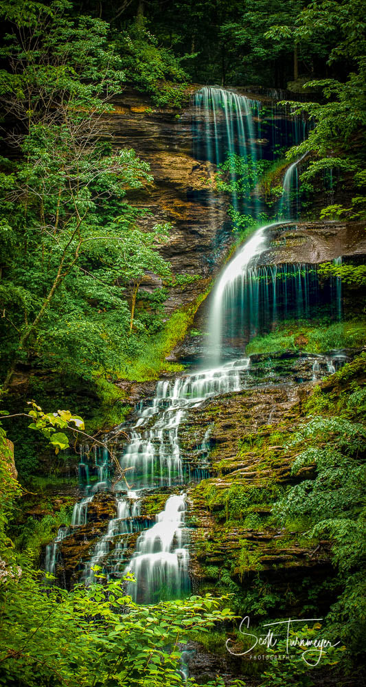 Cathedral Falls Fine Art Landscape Photography Print