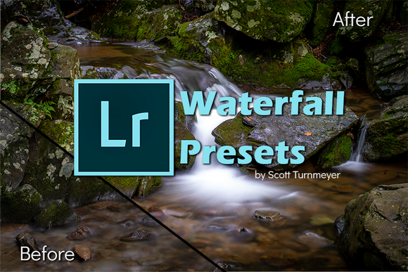 Adobe Lightroom Classic Presets by Scott Turnmeyer - Waterfalls