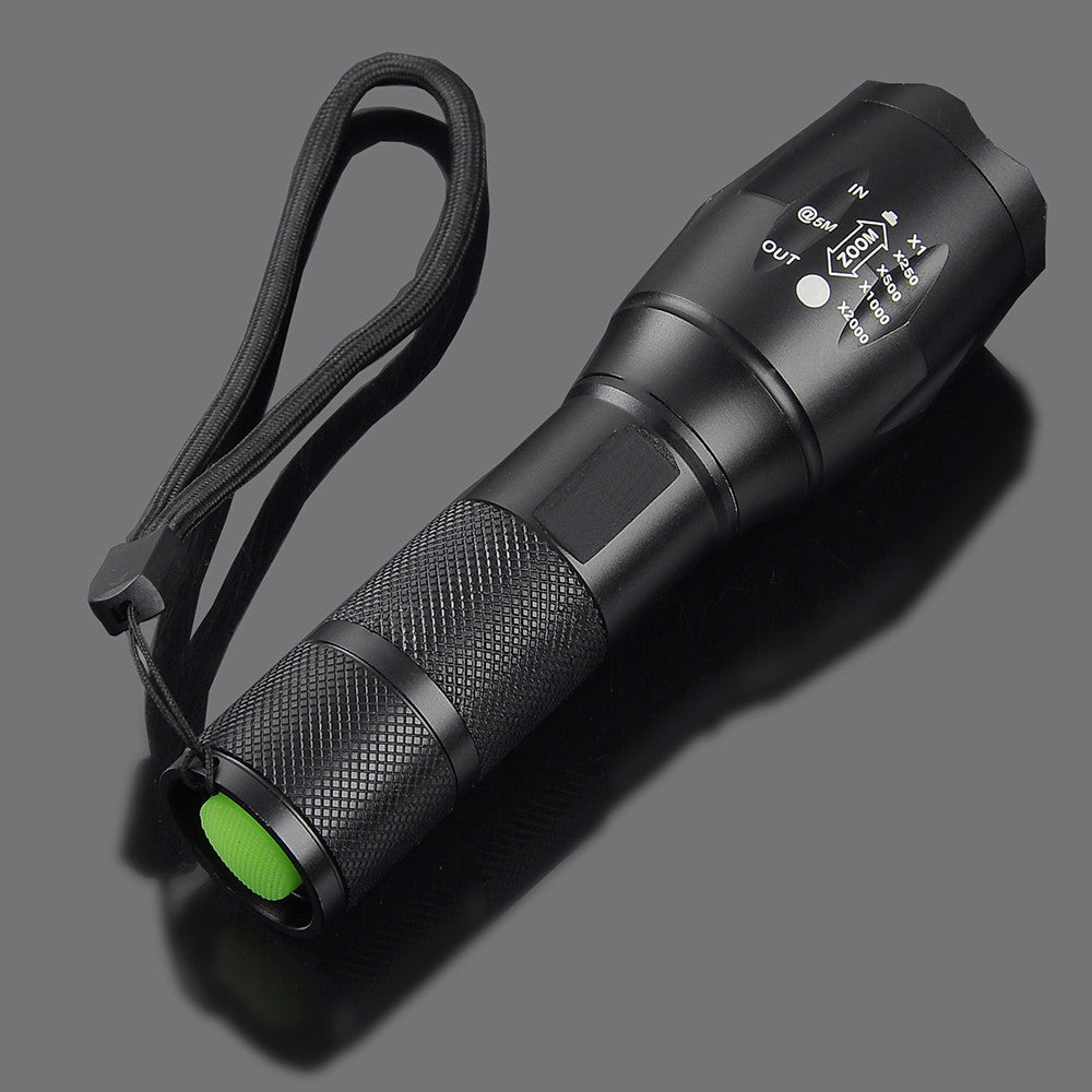 5 Modes LED Flashlight Waterproof Flashlight Strong Pocket Outdoor Torch