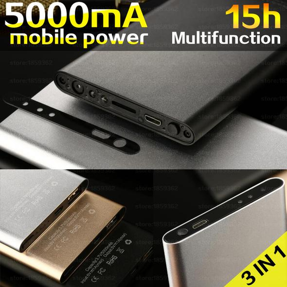 Power Bank Caméra 1080P Vision Nocturne