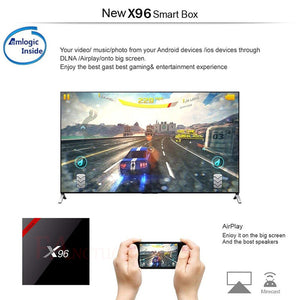 Smart TV BOX X96 Android chez mallshop.ma