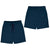 NAVY BASIC FLEECE SHORTS