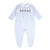 BABY BLUE SMOCKED SOLDIER BABYGROW