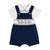 NAVY SOLDIER DUNGAREE SET