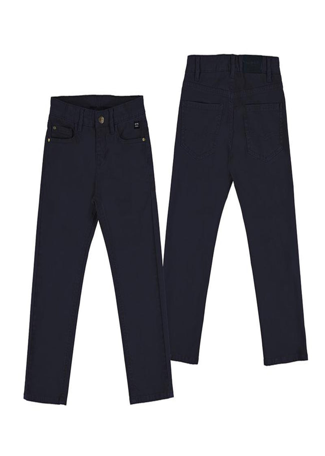 MAYORAL NAVY REGULAR FIT CHINOS